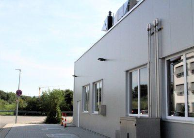 Hallenbau Regnery Bensheim Produktionshalle