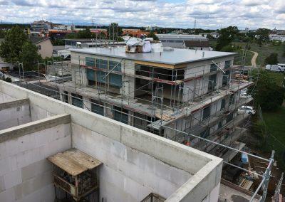 Projekt Benzweg Dachabdichtungsarbeiten Haus 1