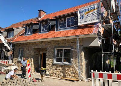 Projekt Scheuergasse Fassadenverkleidung